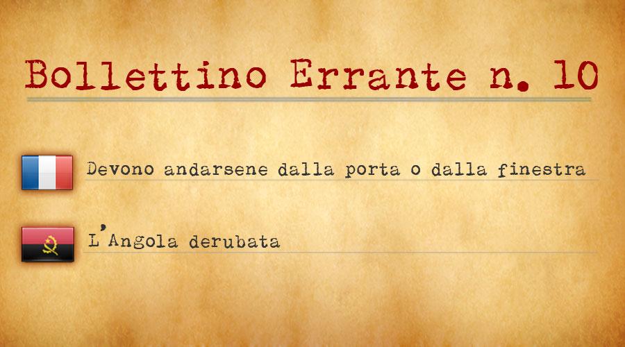 Bollettino Errante n.10