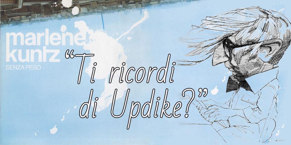 Ti ricordi di Updike