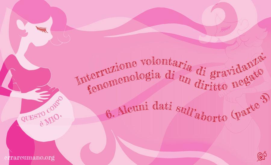 Interruzione volontaria di gravidanza: fenomenologia di un diritto negato (parte 6)